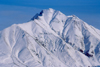 Alaska - Anchorage: mountain top - peak in the Chugach Mountains - acme - photo by F.Rigaud
