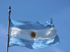Argentina - Buenos Aires - Argentinean Flag at the Plaza de Mayo - images of South America by M.Bergsma