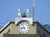 Argentina - Buenos Aires - Clock on top of a building - images of South America by M.Bergsma
