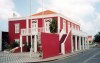 Aruba - Oranjestad: deep red museum (photo by M.Torres)