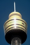 Australia - Sydney (NSW): Centrepoint Tower - detail - top - photo by  Picture Tasmania/Steve Lovegrove