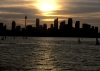 Australia - Sydney (NSW): skyline - sunset - photo by A.Walkinshaw