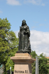 Australia - Adelaide (SA): statue of Queen Victoria at Victoria Square - photo by R.Zafar
