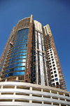 Manama, Bahrain: building the Chase-Perdana tower - photo by M.Torres
