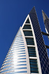 Manama, Bahrain: Bahrain World Trade Center - BWTC - sail-shaped buildings - WS Atkins and Partners - photo by M.Torres