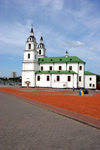 Belarus - Minsk - Holy Gost Cathedral - side view - photo by A.Dnieprowsky