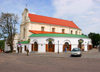 Belarus - Minsk - Old town - church and restaurant - Catholic church of St. Joseph and Bernardine Monastery, now an archive - photo by A.Dnieprowsky
