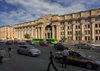 Belarus - Minsk: General Post office - Independence Avenue, former Francyska Skaryny avenue - architects A.Dukhan, V.Korol - the main thoroughfare of Minsk - photo by A.Dnieprowsky