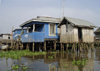 Ganvie, Benin: houses on stilts - lacustrian dwellings - probably the largest lake village in Africa - Lake Nokoué - photo by G.Frysinger