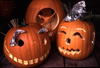 Canada / Kanada - Vancouver: halloween - carved pumpkins - pumpkins - aboboras (photo by F.Rigaud)