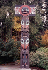 Canada / Kanada - Vancouver: Nootka Totem - Stanley park (photo by M.Torres)