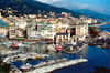 Corsica - Bastia: vieux port seen from the citadel - Blick von Terra Nova in den alten Hafen - photo by M.Torres