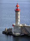 Corsica / Corse - Bastia: lighthouse - photo by J.Kaman