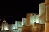 Croatia - Dubrovnik: city walls - nocturnal - photo by P.Gustafson