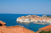 Croatia - Dubrovnik: city and the old port - photo by P.Gustafson