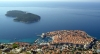 Croatia - Dubrovnik: Dubrovnik and Lokrum island - from above - photo by J.Banks
