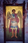 Cyprus - Troodos region - Limassol district: Archangel Michael - church painting - photo by Miguel Torres