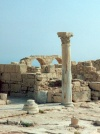 Cyprus - Kourion / Curium - Limassol district: temple of Apollo Hylates - photo by Miguel Torres