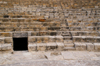 Kourion - Limassol district, Cyprus: theatre - cavea - seating area - photo by A.Ferrari