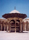 Egypt - Cairo / Al Qahira / Kairo / Caire / CAI: inner court of the Mohamed Ali mosque (photo by Miguel Torres)