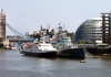 London: City Hall and HMS Belfast - photo by K.White