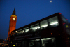 London: Big Ben and London bus at night - Bridge street - photo by  M.Torres
