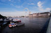 London: the Thames river from Westminster bridge / Tamisa - photo by Craig Ariav