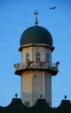 Addis Ababa, Ethiopia: Anwar Mosque - small minaret - photo by M.Torres