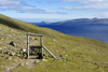 Streymoy island, Faroes: gate and cattle fence on the hiking trail from Tórshavn to Kirkjubøur - photo by A.Ferrari