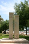 France - Cannes: Kashkars - memorial to the Armenian Genocide perpetrated by the Turks (photo by C.Blam)
