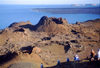 Galapagos Islands: crater on Bartholome island - isla Santiago - Unesco world heritage site - photo by R.Eime