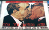 Germany / Deutschland - Berlin: Leonid Brezhnev kisses Erich Honecker - deadly love - photo by M.Bergsma