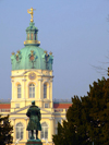 Germany / Deutschland - Berlin: Schloss Charlottenburg - dome and statue of prince Albert of Prussia - Prinz Albrecht von Preußen - photo by M.Bergsma