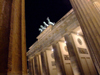 Germany / Deutschland - Berlin: Brandenburg gate / Brandenburger Tor - nocturnal - photo by M.Bergsma