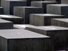 Germany / Deutschland - Berlin: Holocaust Memorial - architect Peter Eisenman - Denkmal - designed by US architect Peter Eisenman - concrete cubes - photo by M.Bergsma