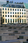 Germany - Berlin: Holocaust Memorial - architect Peter Eisenman - Denkmal - designed by US architect Peter Eisenman - photo by W.Schmidt
