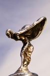 Germany - Berlin: Hood ornament - Spirit of Ecstasy - Emily - on the hood of a Rolls-Royce / Kühlerfigur,luxury car, Luxusauto, Nobelkarosse - photo by W.Schmidt