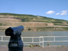 Germany / Deutschland / Allemagne - Rhineland-Palatinate / Rheinland-Pfalz: view on the river Rhine - telescope - photo by Efi Keren