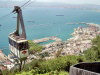 Gibraltar: the cable car (photo by M.Bergsma)