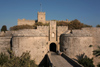 Greece - Rhodes island - Rhodes city - Old Town - D'Aboise gate - photo by A.Dnieprowsky