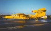 Alderney / ACI : La Grande Blaye - Pilatus Britten-Norman BN-2A Mk3 Trislander aircraft at the airport - Aurigny airways