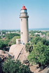India - Mahabalipuram: lighthouse (photo by J.Kaman)