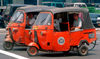 Jakarta, Indonesia - Jakarta city center - Tuk Tuk taxis - photo by B.Henry