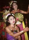 Bali: traditional dancers (photo by Mona Sturges)