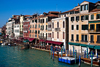 View of the Grand Canal from Rialto Bridge, Venice - photo by A.Beaton