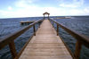 Jamaica - Montego Bay: a pier and the Caribbean sea (photo by Francisca Rigaud)