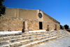 Mount Nebo - Madaba governorate - Jordan: façade of the Basilica built by the Franciscans over the ruins - photo by M.Torres