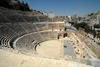 Amman - Jordan: Roman Theatre - view from the top of the cavea - photo by M.Torres