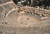 Amman - Jordan: - Roman Theatre - the impressive relic of ancient Philadelphia - photo by M.Torres