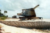 Kiribati - Tarawa: Remnants of the battle of Tarawa early in WWII - coastal gun (photo by G.Frysinger)